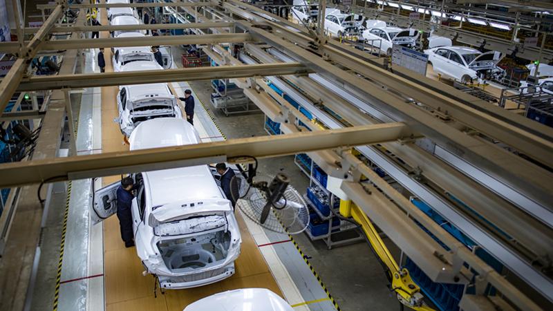 Chinas Batterieproduktion für NEVs steigt im März stark