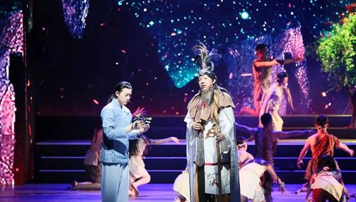 """Episches Musikdrama """"Teekultur erzählt Geschichte der chinesischen Zivilisation"""" in Beijing aufgeführt"""