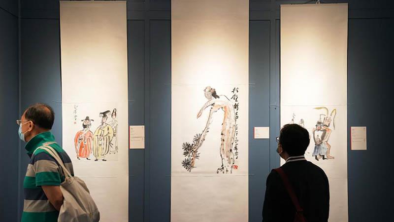 Frühjahrsauktionen des China Guardian Hongkong 2021 in Hongkong geöffnet