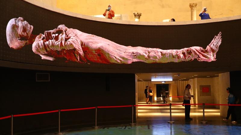 Ägyptisches Nationalmuseum eröffnet neue Halle der königlichen Mumien
