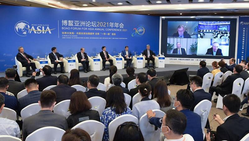 """Unterforum zum Thema """"Duale Zirkulation - Chinas neues Wachstumsparadigma"""" in Boao abgehalten"""